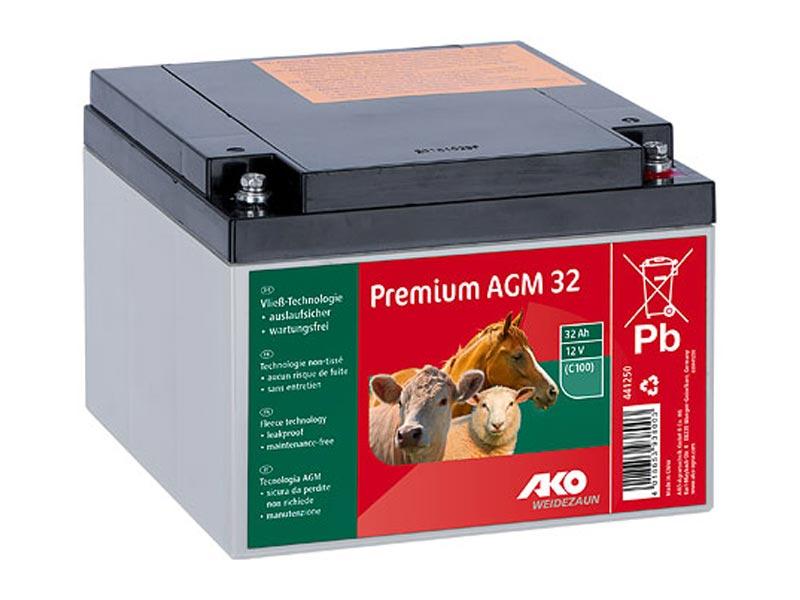 Premium AGM Batterie 32AH