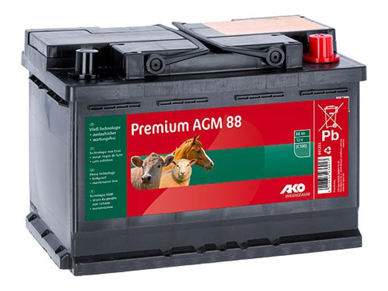 Premium AGM Batterie 88 AH