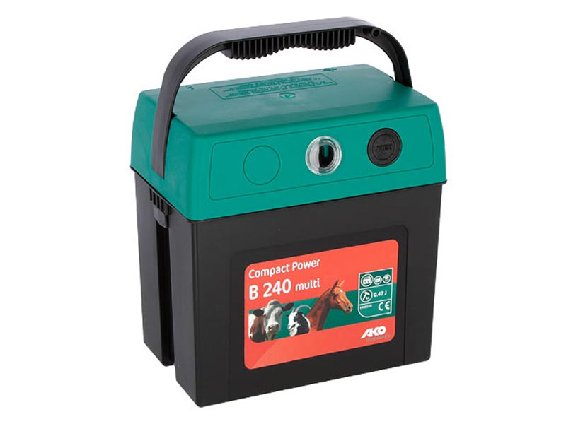 9 Volt Trockenbatteriegeräte Compact Power B 240 multi